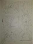blaziken breasts comic crossover digimon duo female japanese_text kewon monochrome nintendo pencil_(artwork) pokémon renamon text traditional_media_(artwork) video_games zoroark  Rating: Explicit Score: 0 User: Well001 Date: December 24, 2015