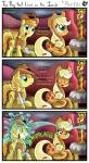 2015 applejack_(mlp) bandage braeburn_(mlp) comic cowboy_hat dialogue english_text equine female friendship_is_magic gray--day green_eyes hat horse male mammal my_little_pony pony text trophy water   Rating: Safe  Score: 4  User: 2DUK  Date: May 19, 2015
