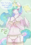 anthro anthrofied ball_gag camel_toe equine female friendship_is_magic gag horse lonelycross mammal my_little_pony pony princess princess_celestia_(mlp) royalty solo   Rating: Questionable  Score: 18  User: masterwave  Date: May 09, 2013