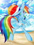 areola beach beach_ball berndem-bones bipedal blue_fur breasts clothing cloud cutie_mark equine friendship_is_magic fur hair horse looking_back mammal multicolored_hair my_little_pony nipples nude open_mouth outside pony pussy rainbow_dash_(mlp) rainbow_hair seaside small_breasts smile teeth wings   Rating: Explicit  Score: 0  User: EmoCat  Date: April 25, 2015