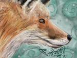 2011 ambiguous_gender black_fur brown_fur canine close-up feral fox fur mammal orange_eyes raptor007 stupidfox whiskers white_fur   Rating: Safe  Score: 1  User: GameManiac  Date: February 25, 2015