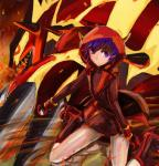 2015 ambiguous_gender claws clothed clothing duo female fire footwear groudon hair human interspecies legendary_pokémon mammal markings mega_evolution nintendo open_mouth pokéball pokémon primal_groudon purple_eyes purple_hair shinden_(artist) shoes spikes team_magma teeth video_games   Rating: Safe  Score: 2  User: N7  Date: February 08, 2015