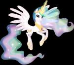 2015 absurd_res alpha_channel equine female feral friendship_is_magic hi_res horn looking_at_viewer mammal my_little_pony princess_celestia_(mlp) smile solo theshadowstone winged_unicorn wings   Rating: Safe  Score: 5  User: Robinebra  Date: February 19, 2015