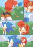 anthro blush butt canine cloudz comic echidna female fox group hedgehog knuckles_the_echidna male mammal miles_prower monotreme rodent sally_acorn sonic_(series) sonic_the_hedgehog squirrel   Rating: Explicit  Score: 5  User: Mcnair32  Date: March 11, 2015