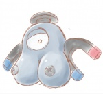 1_eye big_breasts breasts female kaceuth magnemite metal nintendo not_furry pokémon solo video_gamesRating: QuestionableScore: 1User: FurryPaladinDate: January 23, 2017