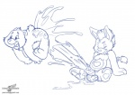 alternate_species anthro balls bear blue_and_white care_bears chubby cum donkey duo equine excessive_cum flying hyper male male/male mammal monochrome penis sen_grisane signature unknown_character wolfblade young   Rating: Explicit  Score: 12  User: King30  Date: October 06, 2012