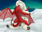 bear cum cum_inside dragon duo female forced male mammal multi_limb multiple_arms multiple_legs outside penis polar_bear scalie sheath snow strega vore  Rating: Explicit Score: 4 User: Pangur Date: June 14, 2015