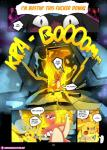2018 anthro blush charmeleon cleft_tail comic dialogue door fire insomniacovrlrd jewelry lantern necklace nintendo pikachu pokémon pokémon_(species) pokémon_mystery_dungeon riolu shocked video_gamesRating: SafeScore: 8User: Giff_SergalDate: March 19, 2018