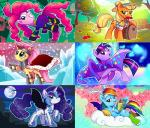 2016 adlynh antlers apple applejack_(mlp) armor barrel blonde_hair blue_eyes blue_feathers blue_fur blue_hair clothing cloud costume cutie_mark earth_pony equine feathered_wings feathers female feral fluttershy_(mlp) food friendship_is_magic fruit fur green_eyes group hair hat horn horse looking_at_viewer mammal moon multicolored_hair multicolored_tail my_little_pony orange_fur pegasus pink_fur pink_hair pinkie_pie_(mlp) pony purple_eyes purple_fur purple_hair rainbow_dash_(mlp) rainbow_hair rainbow_tail rarity_(mlp) smile snow tree twilight_sparkle_(mlp) two_tone_hair unicorn white_fur wings yellow_fur  Rating: Safe Score: 16 User: ConsciousDonkey Date: April 05, 2016