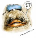 anthro avian bird dolan duck humor jellyvampire male meme nightmare_fuel solo what   Rating: Safe  Score: 24  User: hajosikotoyotasi  Date: September 10, 2013