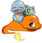 ambiguous_gender baunilha bulbasaur charmander eyes_closed group looking_at_viewer nintendo open_mouth pokémon squirtle video_games   Rating: Safe  Score: 4  User: Darkcelona  Date: January 14, 2015