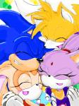 anthro blaze_the_cat blush cream_the_rabbit female group group_hug male miles_prower sonic_(series) sonic_the_hedgehog   Rating: Safe  Score: 1  User: Rad_Dudesman  Date: September 11, 2014