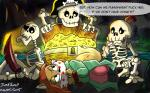 bone bound bounded canine cave female fox gag gagged group jane_fox jumpjump legends_of_treasure_island male mammal pirates prisoner skeleton sunset treasure treasure_chest  Rating: Safe Score: 0 User: JUMPJUMP Date: October 13, 2015