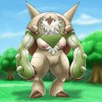 anthro big_thighs breasts chesnaught chest_tuft cloud female fur nintendo nude ole outside pokémon pussy sky solo standing tuft video_games  Rating: Explicit Score: 4 User: Neitsuke Date: November 09, 2013