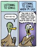 2015 anthro avian bird border brian_gordon brian_the_duck comic crying dialogue duck english_text humor music singing speech_bubble tears text the_truth what white_borderRating: SafeScore: 8User: SwiperTheFoxDate: May 28, 2017