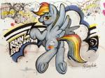 absurd_res anatomically_correct anatomically_correct_anus anatomically_correct_pussy animal_genitalia animal_pussy anus clitoris dock equine equine_pussy female feral friendship_is_magic hair hi_res horse looking_back mammal multicolored_hair my_little_pony nude open_mouth pony pussy rainbow_dash_(mlp) selenophile solo traditional_media_(artwork) watercolor_(artwork)  Rating: Explicit Score: 15 User: Selenophile Date: January 07, 2016