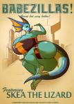 anthro big_breasts big_butt breasts butt corset female huge_breasts huge_butt hyper hyper_breasts lizard macro reptile scalie skea solo stereoplair thick_thighs voluptuous wide_hips   Rating: Questionable  Score: 7  User: limitedvision  Date: February 16, 2014