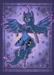 2015 anthro anthrofied armwear blue_eyes blue_feathers blue_fur blue_hair blue_nipples breasts cutie_mark digital_media_(artwork) equine female friendship_is_magic fur hair horn horse legwear long_hair mammal my_little_pony navel necklace nipples pony pose princess_luna_(mlp) pussy raptor007 smile socks solo teeth winged_unicorn wings   Rating: Explicit  Score: 4  User: GameManiac  Date: March 27, 2015