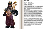 animal_ears anthro anubian_jackal anubis balance barefoot blush canine claws deity egyptian english_text female green_hair hair jackal jewelry kenkou_cross looking_at_viewer mammal monster monster_girl monster_girl_profile necktie pads paws red_eyes solo sword tattoo text the_more_you_know weapon   Rating: Questionable  Score: 3  User: Necroceine  Date: November 03, 2009