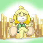animal_crossing bags canine dog female fupoo gold isabelle_(animal_crossing) mammal money nintendo video_games   Rating: Safe  Score: 0  User: Juni221  Date: March 13, 2014