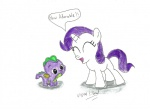 cub cute dialogue dragon duo english_text equine eyes_closed female feral friendship_is_magic fur hair hi_res horn male mammal my_little_pony purple_hair purple_scales rarity_(mlp) scales scalie spike_(mlp) text ulyssesgrant unicorn white_fur young  Rating: Safe Score: 4 User: Sods Date: May 14, 2013