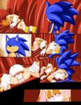 absurd_res anthro clothing cream_the_rabbit cub dreamcastzx1 duo female hi_res lagomorph mammal nude panties rabbit rape_face sonic_(series) sonic_the_hedgehog spread_legs spreading underwear young  Rating: Explicit Score: 15 User: Dreamcastzx Date: October 20, 2015