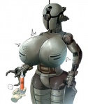 ... 1_eye <3 assaultron big_breasts breast_expansion breasts disembodied_hand fallout female huge_breasts machine not_furry robot sinensian solo speech_bubble syringe video_games  Rating: Questionable Score: 17 User: ROTHY Date: March 09, 2016