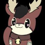 :3 <3 <3_eyes antlers bell black_eyes black_hair brown_fur cervine collar cute cute_eyes deer fur hair horn mammal piebunny pink_noseRating: SafeScore: 3User: PieBunnyDate: November 16, 2017