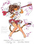 2001 <3 aimee aimee_major breasts cardcaptor_sakura clothed clothing edit feline female fur_thief legwear mammal melee_weapon partially_clothed polearm ribbons shopped skirt solo staff stockings tiger wand weapon  Rating: Questionable Score: 1 User: Lxs371 Date: December 16, 2009