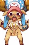 anthro antlers balls blush bottomless bulge cervine clothed clothing dagasi digital_media_(artwork) disembodied_hand half-dressed hat horn male mammal one_piece pants penis reindeer shaking shirt tongue tongue_out tony_tony_chopper trembling uncut   Rating: Explicit  Score: 3  User: Wii_Fit_Stripper  Date: September 30, 2014