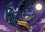 2014 absurd_res bat_pony cute duo equine female feral friendship_is_magic full_monn hi_res horn lovelyneckbeard male mammal moon my_little_pony night princess_luna_(mlp) winged_unicorn wings  Rating: Safe Score: 14 User: Robinebra Date: July 17, 2014