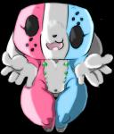animate_inanimate canine female hi_res high-angle_view looking_at_viewer mammal nintendo nintendo_switch nipples nude short_stack switch_dog tko-san video_games wide_hipsRating: QuestionableScore: 12User: Ko-sanDate: August 19, 2017