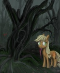 applejack_(mlp) blonde_hair bow crying cutie_mark equine female feral freckles friendship_is_magic green_eyes hair horse my_little_pony naterring pony sad solo story_of_the_blanks   Rating: Safe  Score: 7  User: Sods  Date: April 20, 2013
