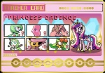 crossover cutie_mark delcatty equine female feral friendship_is_magic gardevoir horn horse humanoid lilligant lopunny low_res luvdisc mammal melloetta my_little_pony nintendo pokémon pony princess_cadance_(mlp) seaandsunshine shiny trainer_card video_games wings   Rating: Safe  Score: -1  User: darknessRising  Date: August 11, 2013