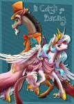 2015 discord_(mlp) draconequus duo equine female feral friendship_is_magic hi_res horn male mammal my_little_pony parody princess_celestia_(mlp) smile stepandy winged_unicorn wings  Rating: Safe Score: 14 User: Robinebra Date: December 15, 2015