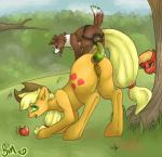 anal anus applejack_(mlp) big_macintosh_(mlp) canine dildo dog double_dildo earth_pony equine female female/female feral friendship_is_magic horse mammal my_little_pony poisindoodles pony pussy sex_toy strapon surprise_buttsex surprise_sex voyeur winona_(mlp)   Rating: Explicit  Score: 4  User: Sinwolf13  Date: March 31, 2015
