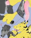 anal anal_penetration anal_stretching animal_genitalia animal_penis anthro anthro_on_feral anus balls bestiality breath butt canine collar comic cum cum_in_ass cum_inside digital_media_(artwork) dragon drooling duo feet feral fur gaping greypolf hi_res interspcies interspecies invalid_tag larger_dom male male_penetrating mammal nude open_mouth orgasm paws penetration penis saliva sex size_difference smaller_male smaller_sub soft_vore stretching teeth tlan_atolm toes tongue tongue_out vore wings wolf wolfywetfurr_(artist)Rating: ExplicitScore: 3User: wolfywetfurrDate: May 22, 2017