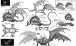 absurd_res dark_souls dragon gaping_dragon hi_res japanese_text model_sheet monochrome official_art solo teeth text video_games wings   Rating: Safe  Score: 2  User: e17en  Date: March 27, 2015