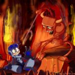 archwig beck_(mn9) crossover duo fire futurama hell hi_res horn machine male mighty_no._9 not_furry pitchfork robotRating: SafeScore: 6User: NujiDate: April 26, 2017