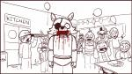 2014 animated animatronic anthro avian bear bird blood bone bonnie_(fnaf) canine chica_(fnaf) claws clothed clothing court crisis-omega crying english_text eye_patch eyewear fangs feels female five_nights_at_freddy's fox foxy_(fnaf) freddy_(fnaf) group gun hook hook_hand human inside lagomorph lapd looking_at_viewer machine male mammal monochrome multiple_scenes newspaper no_sound pirate police prison rabbit ranged_weapon robot sad screens shower sign simple_background skeleton soap solo stare tears text toe_claws tongue video_games weapon white_background white_eyesRating: QuestionableScore: 7User: slyroonDate: September 15, 2017
