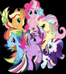 2014 absurd_res alpha_channel applejack_(mlp) earth_pony equine female feral fluttershy_(mlp) friendship_is_magic fur group hi_res horn horse mammal my_little_pony pegasus pinkie_pie_(mlp) pony purple_fur rainbow_dash_(mlp) rarity_(mlp) theshadowstone twilight_sparkle_(mlp) unicorn winged_unicorn wings  Rating: Safe Score: 5 User: Robinebra Date: August 01, 2014