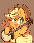 2014 applejack_(mlp) banjo blonde_hair chibi cowboy_hat equine female friendship_is_magic fur green_eyes hair hat horse lifeloser mammal musical_instrument my_little_pony orange_fur pony solo   Rating: Safe  Score: 11  User: anthroking  Date: February 07, 2014