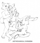 2004 age_difference anthro black_and_white breast_grab breasts canine cub cunnilingus david_siegl disney erection fellatio female fondling fox grope group lagomorph maid_marian male male/female mammal masturbation monochrome nude oral oral_penetration penis rabbit robin_hood robin_hood_(disney) sex simple_background sis skippy vaginal white_background young  Rating: Explicit Score: 5 User: GerboiseBleu Date: March 07, 2015