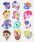 2015 3d_glasses applejack_(mlp) big_macintosh_(mlp) bonbon_(mlp) derp derp_eyes derpy_hooves_(mlp) doctor_whooves_(mlp) equine female fluttershy_(mlp) friendship_is_magic horn horse lyra_heartstrings_(mlp) male mammal my_little_pony paper pinkie_pie_(mlp) pixelkitties pony rainbow_dash_(mlp) rarity_(mlp) straw trixie_(mlp) twilight_sparkle_(mlp) unicorn   Rating: Safe  Score: 4  User: 2DUK  Date: April 22, 2015