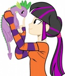duo female feral friendship_is_magic human humanized lizard male mammal my_little_pony pet princesslunaughty1 reptile scalie smile spike_(mlp) twilight_sparkle_(mlp)   Rating: Safe  Score: 12  User: Sods  Date: June 19, 2014