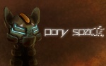 ambiguous_gender armor crossover dead_space english_text equine hi_res horse mammal my_little_pony nelvakre pony simple_background solo text video_games visor  Rating: Safe Score: 1 User: slyroon Date: July 05, 2013