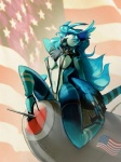 alivia anthro avian bloophyn bomber breasts clothed clothing female flag gryphon high_heels legwear lingerie nipples patriotism pinup politics pose pussy refer skimpy solo stars_and_stripes stockings string_bikini united_states_of_america   Rating: Explicit  Score: 17  User: Mantis-mk2  Date: April 22, 2014