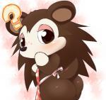 "animal_crossing blush brown_eyes brown_fur butt female fur hedgehog kemono mammal nintendo sable_able solo ukan_muri video_games  Rating: Questionable Score: 6 User: KemonoLover96 Date: June 22, 2015"""