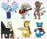 anthro bow_(stringed_instrument) canine cat clothed clothing collar digimon dragon drjavi eyes_closed feathers feline female ferret flute fur gatomon gazimon guitar holding_musical_instrument holding_object jewelry looking_at_viewer male mammal musical_instrument mustelid nintendo open_mouth piano playing_guitar playing_music playing_piano playing_violin pokémon raccoon sandslash scalie simple_background sitting smile veemon video_games violin white_fur wingsRating: SafeScore: 3User: SkullagumonDate: January 16, 2017