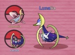 cresselia female fusion legendary_pokémon lunala nintendo pink_eyes pokefusionman pokémon solo video_games